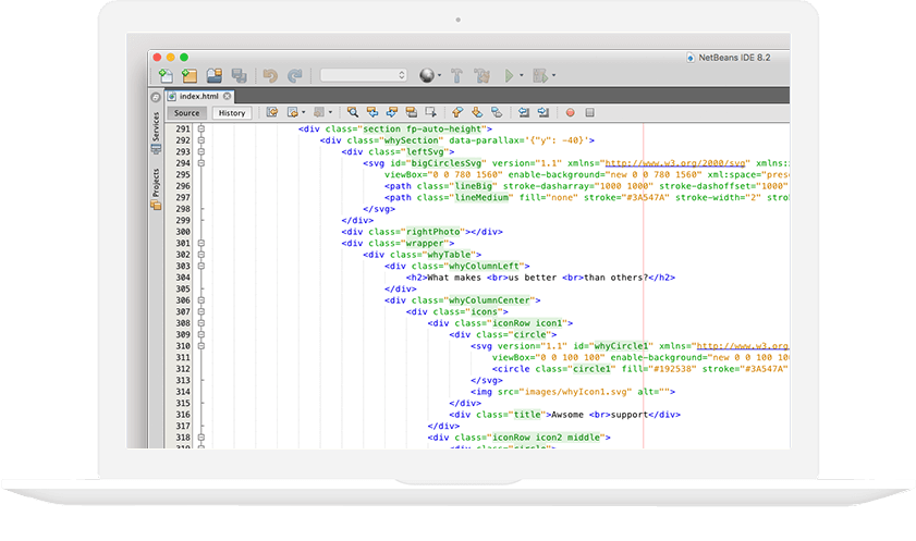 Web coding - Galop Digital