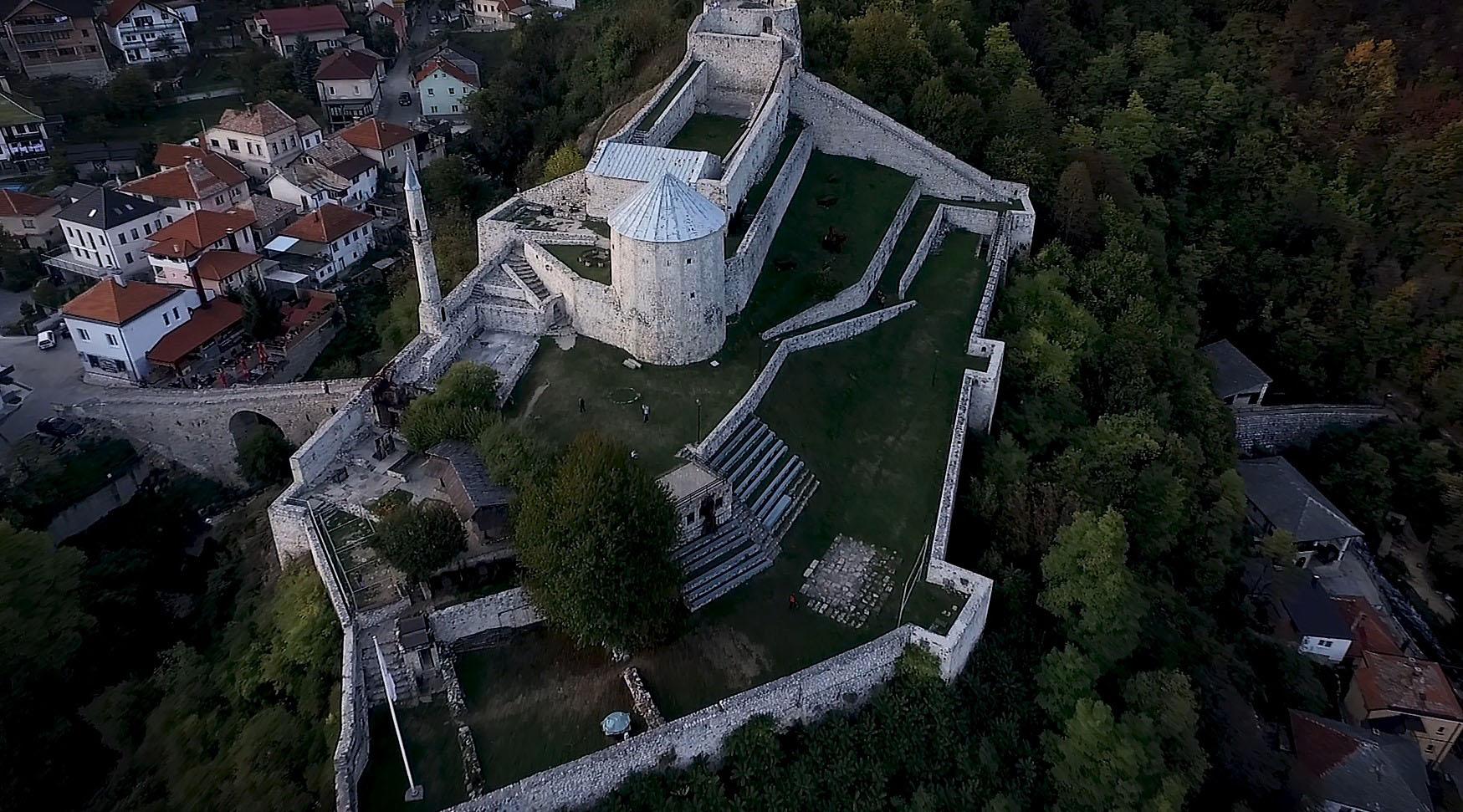 Srednjovjekovna tvrđava u Travniku