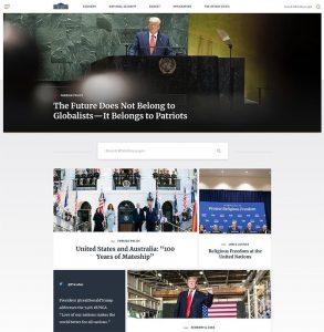 White House - WordPress