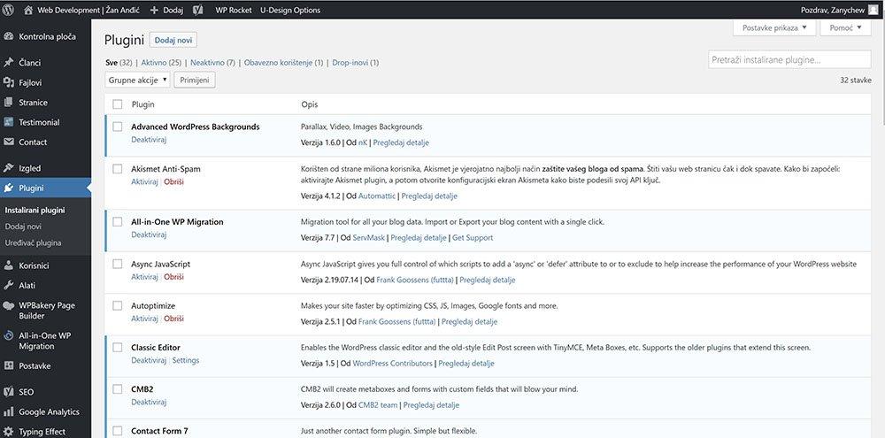 WordPress ili custom rješenje