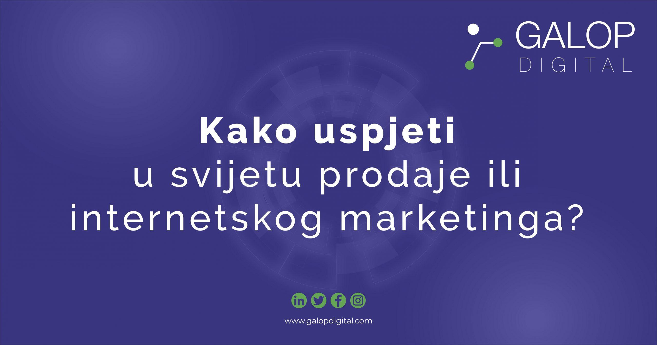 prodaja -  internet marketing