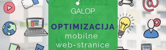 Optimizacija mobilne web stranice