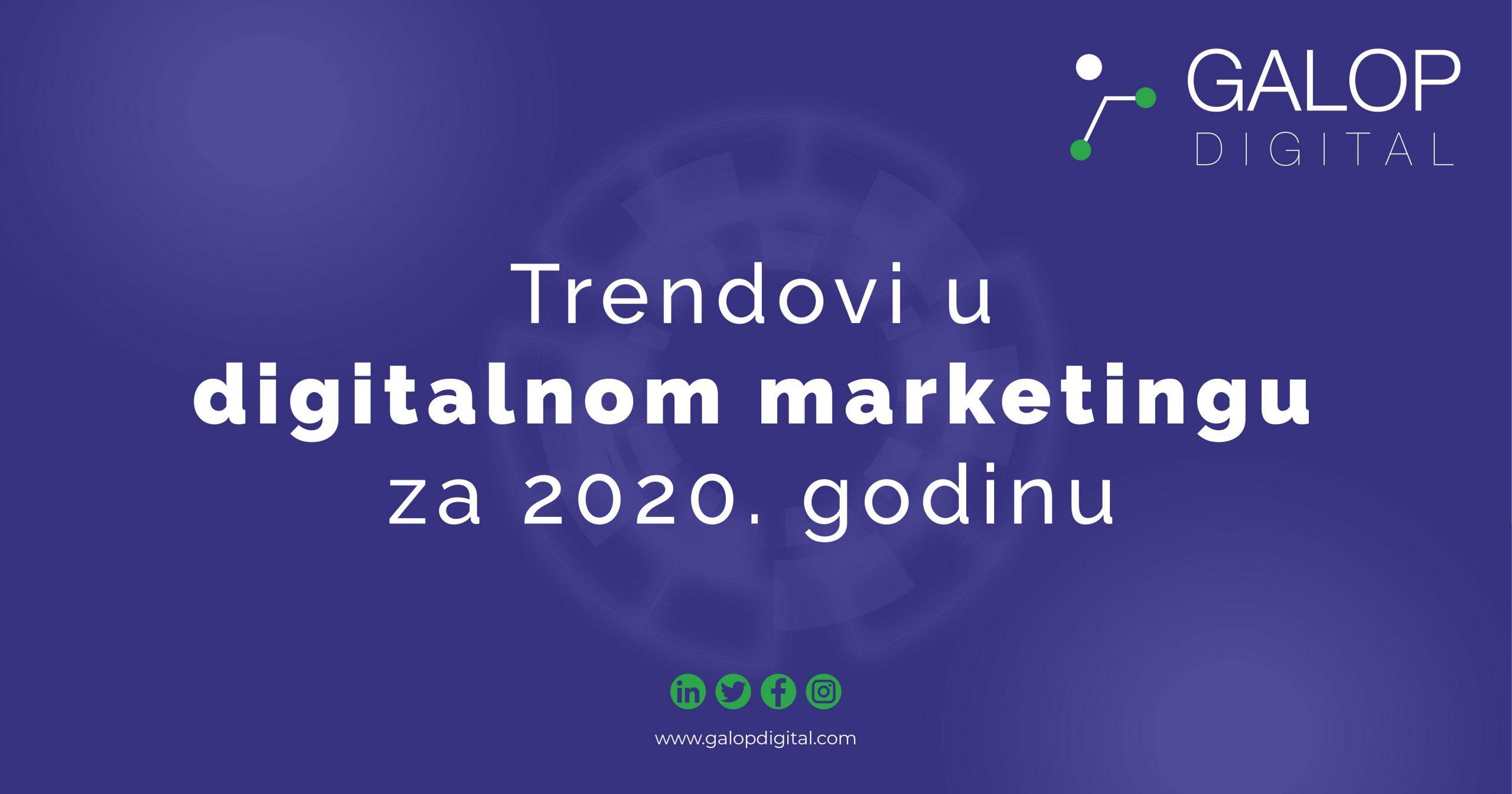 5 trendova digitalnog marketinga
