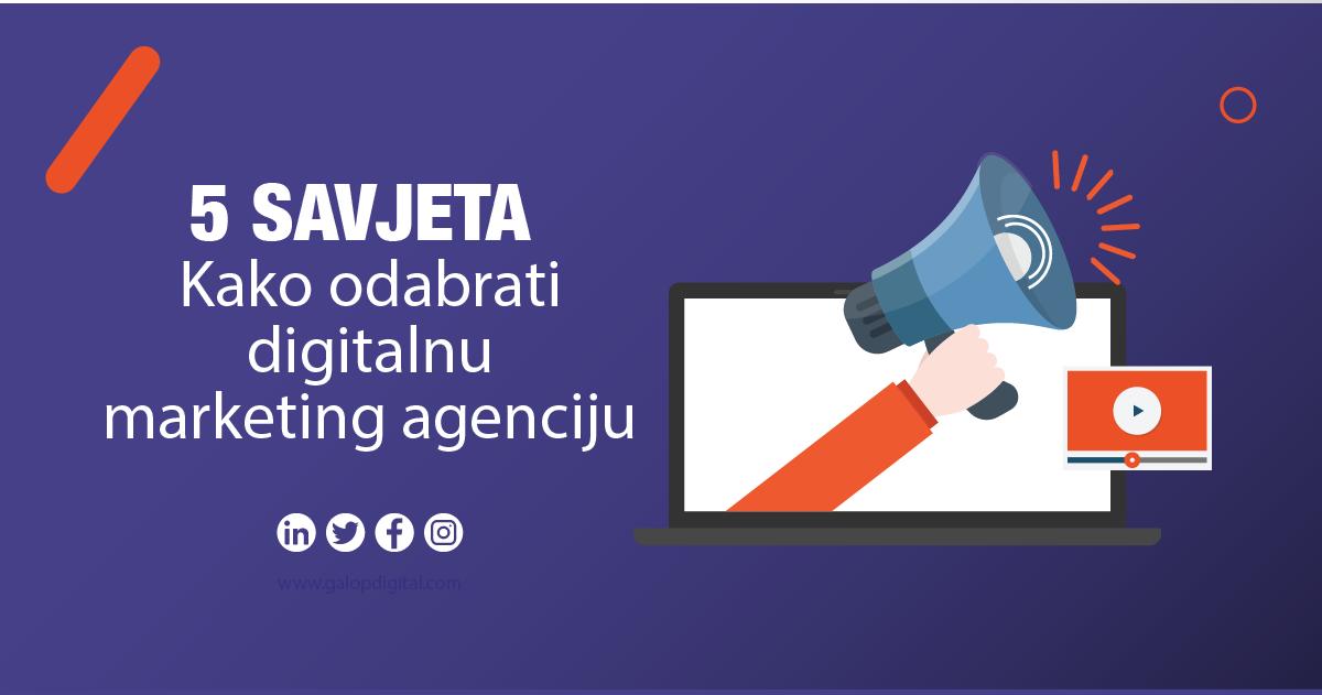 kako odabrati digitalnu agenciju