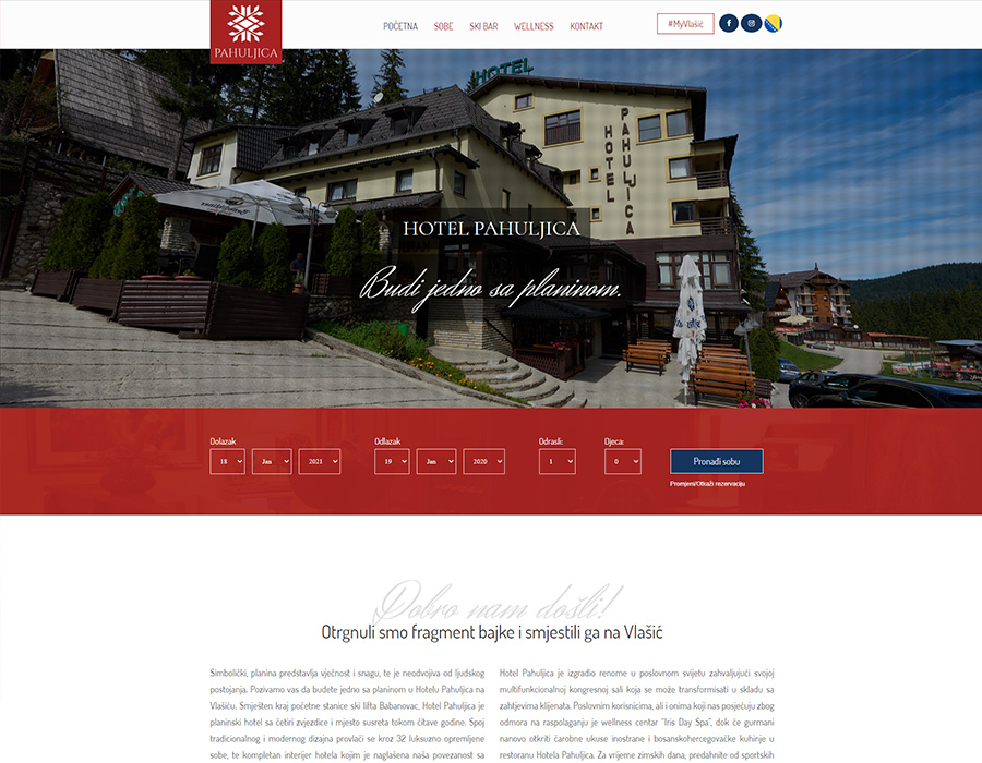 Hotel Pahuljica Vlašić